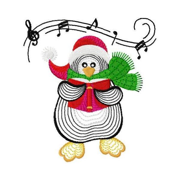 Neon Pinguim Natal 01