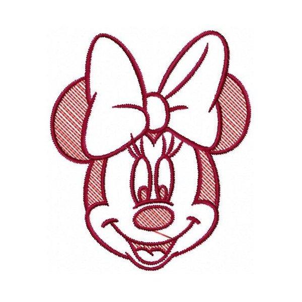 Cabeça Minnie 1 Vazada