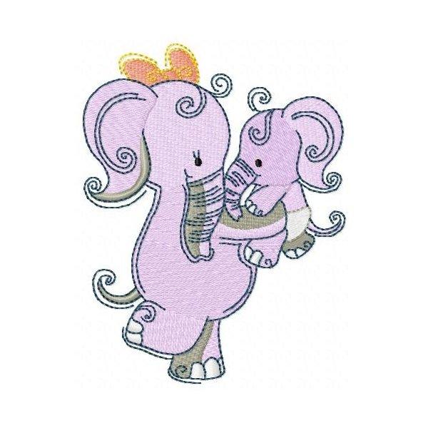 Elefante Baby Mon