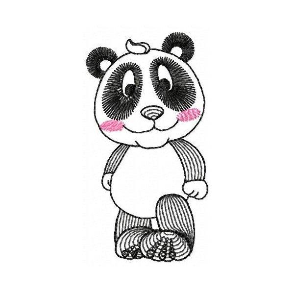 Ursinho Panda Neon 01