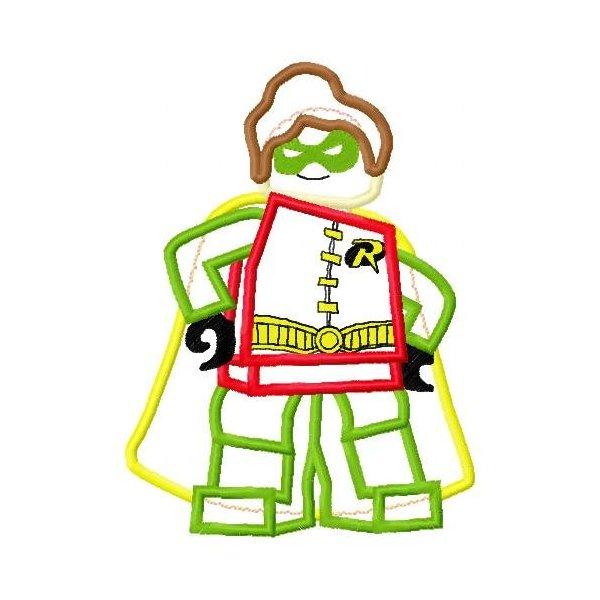 Robin Lego 1 Aplique