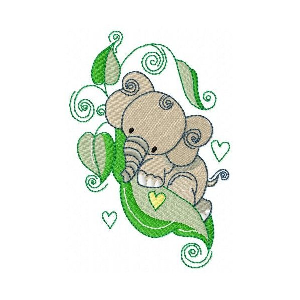 Elefante Na Ervilha