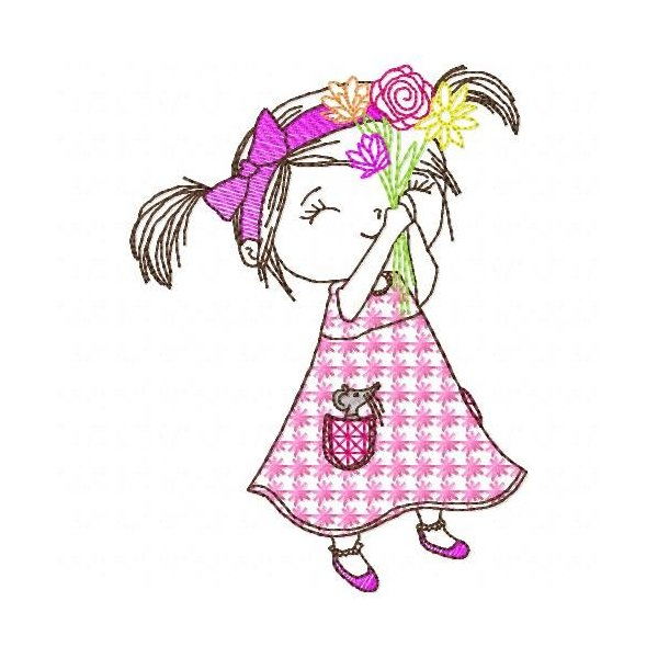 Menina 2 Colorwork