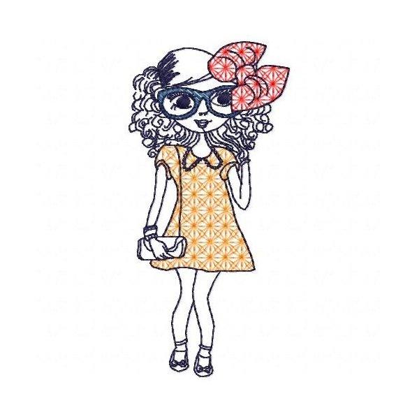 Menina 14 Colorwork