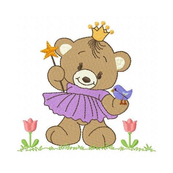 Ursinho 32 Princesa