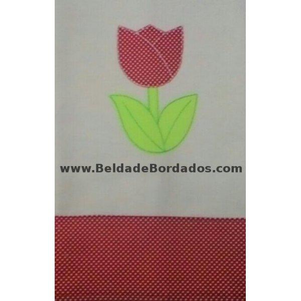 Aplique Rústico Tulipa 1