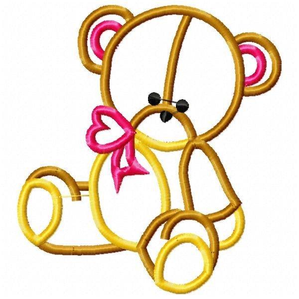 Aplique Ursos Baby 01