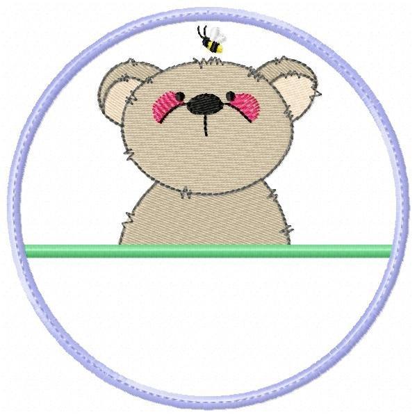Aplique Animais no Círculo 002