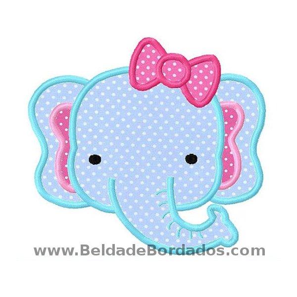 Elefante Aplique 3