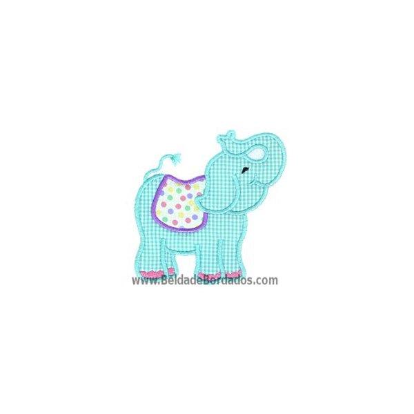 Elefante Aplique 4