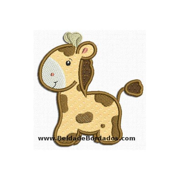 Girafa 4 Aplique