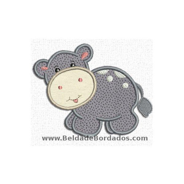 Hipopotamo 2 Aplique
