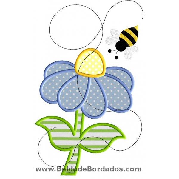Floral 57 Aplique