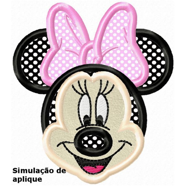 Minnie Aplique 1