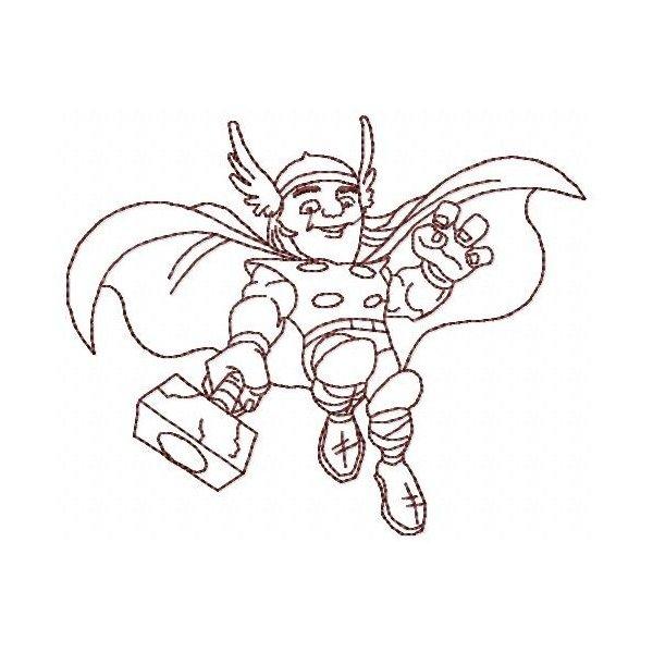 Thor Redwork 1