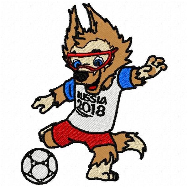 Mascote Copa 2018