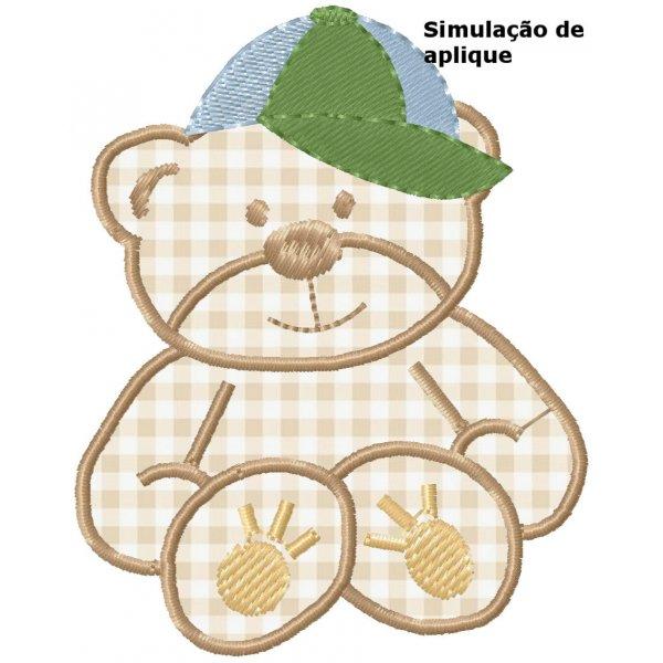 Ursinho Aplique 3