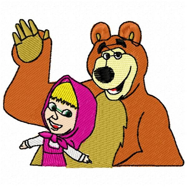 Masha e o Urso 1