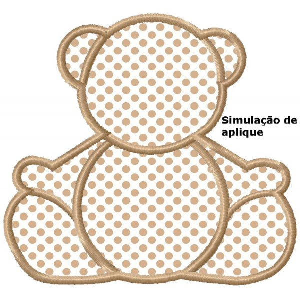 Ursinho Aplique 4