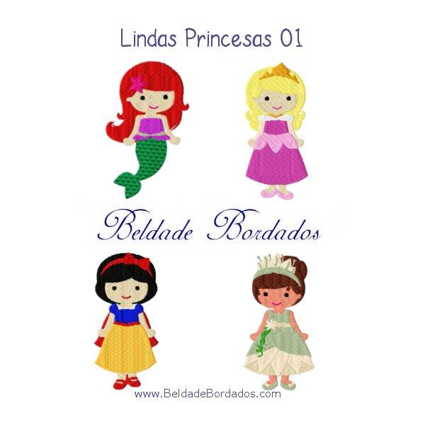 Lindas Princesas 01
