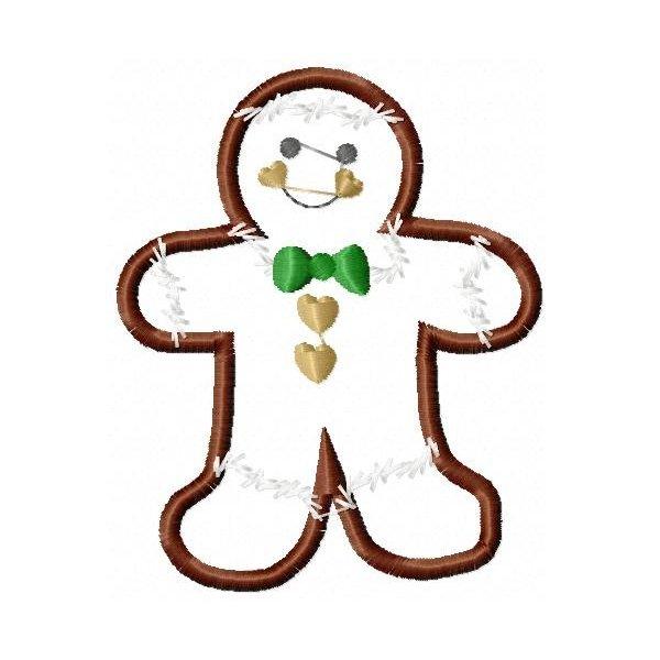 Aplique Biscoito Natal 001 Grande