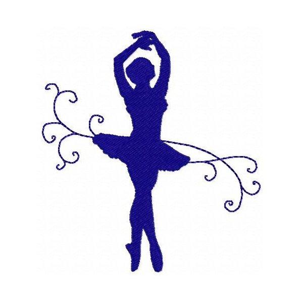 Bailarinas Silhuetas