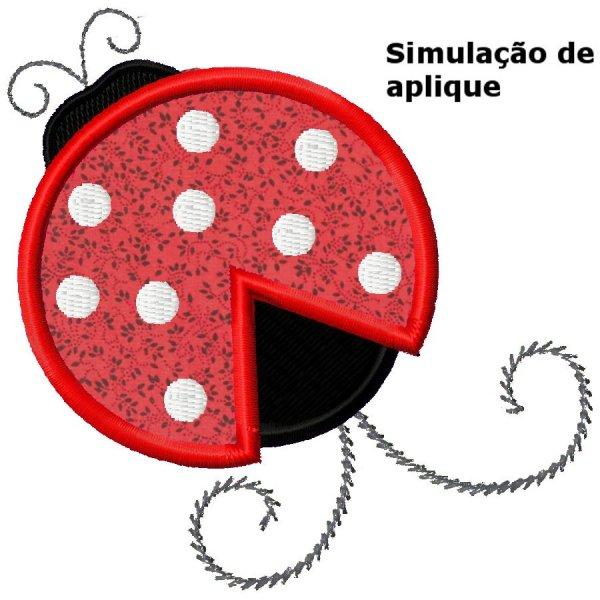 Joaninha Aplique 1